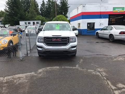 2016 GMC Sierra 1500 for sale at ET AUTO II INC in Molalla OR