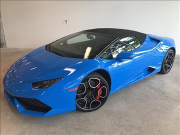 2016 Lamborghini Huracan for sale in Honolulu, HI