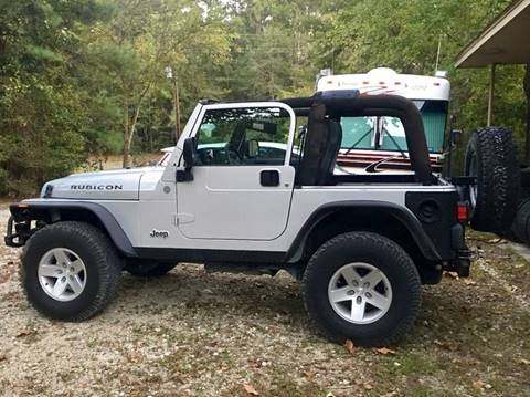 2004 Jeep Wrangler for sale at Fast Lane Direct in Lufkin TX