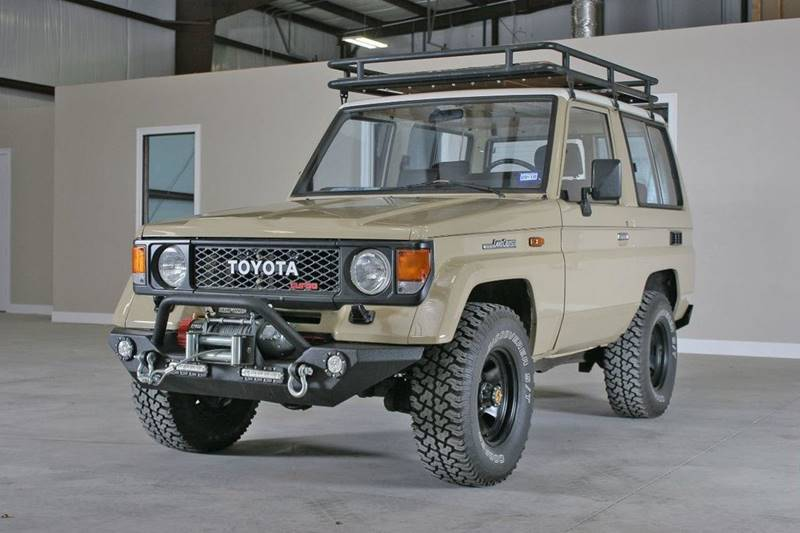 Toyota Land Cruiser Diesel >> 1986 Toyota Land Cruiser Diesel 2 Door 4wd Suv In Lufkin Tx