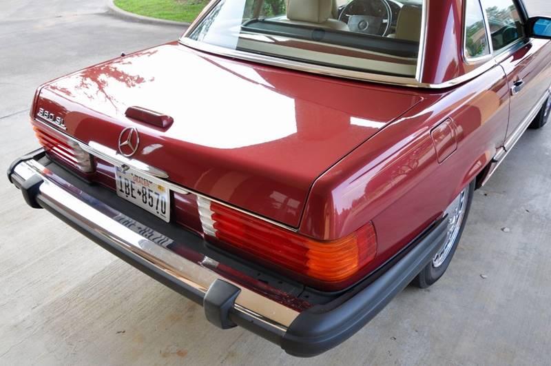 1989 Mercedes-Benz 560-Class 560 SL 2dr Convertible - Lufkin TX