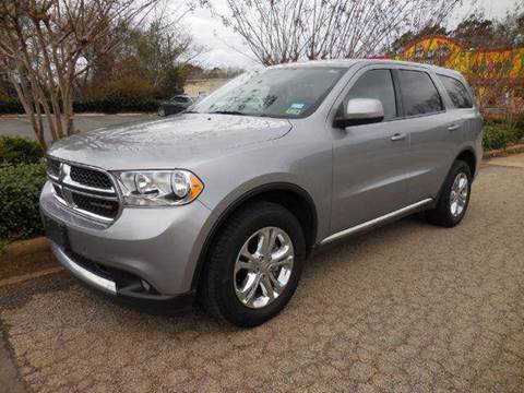 2013 Dodge Durango for sale at Fast Lane Direct in Lufkin TX