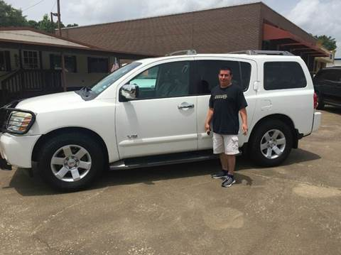 2005 Nissan Armada for sale at Fast Lane Direct in Lufkin TX