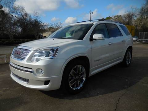 2011 GMC Acadia for sale at Fast Lane Direct in Lufkin TX