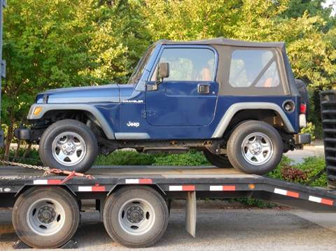 2002 Jeep Wrangler for sale at Fast Lane Direct in Lufkin TX
