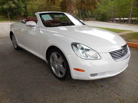 2004 Lexus SC 430 for sale at Fast Lane Direct in Lufkin TX