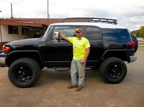 2007 Toyota FJ Cruiser for sale at Fast Lane Direct in Lufkin TX