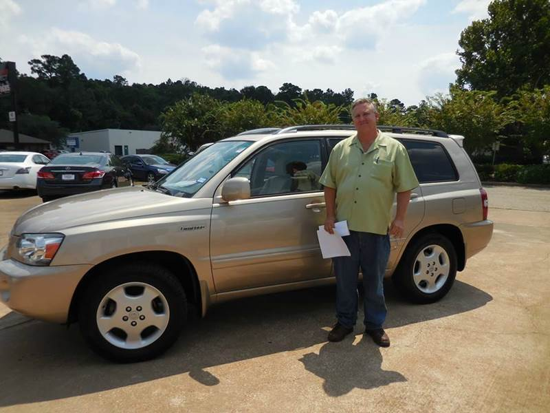 2004 Toyota Highlander V6 2wd With 3rd Row Seat In Lufkin