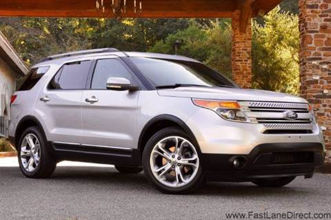 2011 Ford Explorer for sale at Fast Lane Direct in Lufkin TX