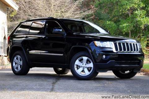 2012 Jeep Grand Cherokee for sale at Fast Lane Direct in Lufkin TX