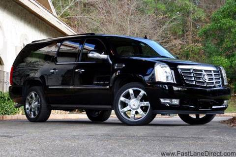 2011 Cadillac Escalade ESV for sale at Fast Lane Direct in Lufkin TX