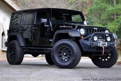 2012 Jeep Wrangler Unlimited for sale at Fast Lane Direct in Lufkin TX