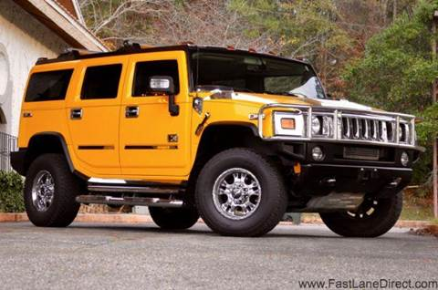 2006 HUMMER H2 for sale at Fast Lane Direct in Lufkin TX