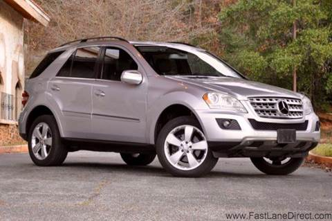 2010 Mercedes-Benz M-Class for sale at Fast Lane Direct in Lufkin TX