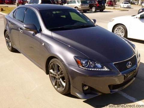 2012 Lexus IS 250 for sale at Fast Lane Direct in Lufkin TX