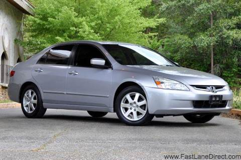 2005 Honda Accord for sale at Fast Lane Direct in Lufkin TX