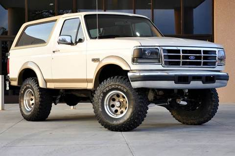 1995 Ford Bronco for sale at Fast Lane Direct in Lufkin TX