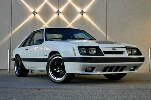 1986 Ford Mustang for sale at Fast Lane Direct in Lufkin TX