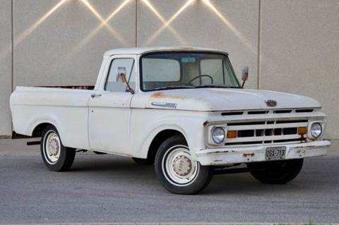 1961 Ford F-100 for sale at Fast Lane Direct in Lufkin TX