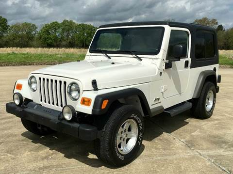 2006 Jeep Wrangler for sale at Fast Lane Direct in Lufkin TX