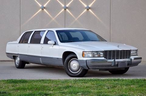 1993 Cadillac Fleetwood for sale at Fast Lane Direct in Lufkin TX