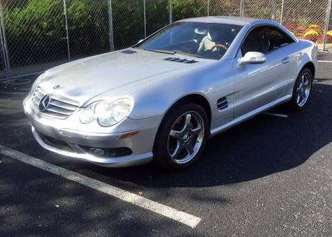 2003 Mercedes-Benz SL-Class for sale at Fast Lane Direct in Lufkin TX