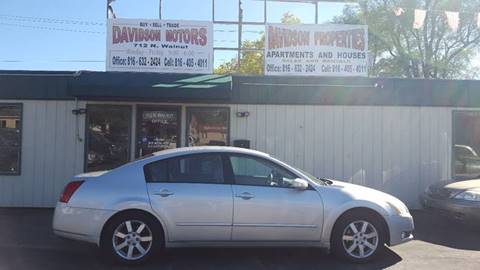 2004 Nissan Maxima for sale in Cameron, MO