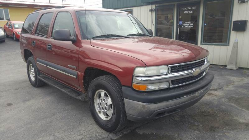 2002 Chevrolet Tahoe LS 2WD 4dr SUV - Cameron MO
