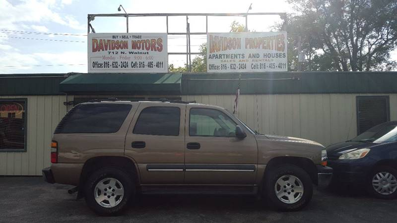 2004 Chevrolet Tahoe 4dr 4wd Suv In Cameron Mo Davidson