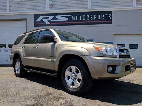 2008 Toyota 4Runner for sale at RS Motorsports, Inc. in Canandaigua NY