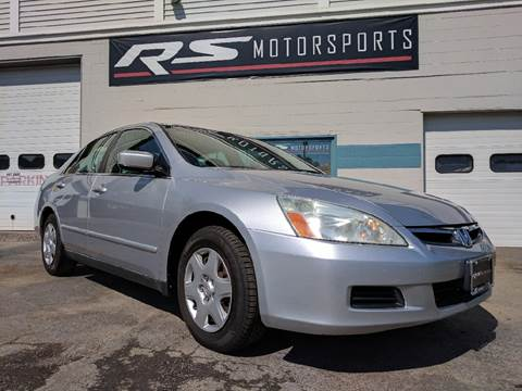 2006 Honda Accord for sale at RS Motorsports, Inc. in Canandaigua NY