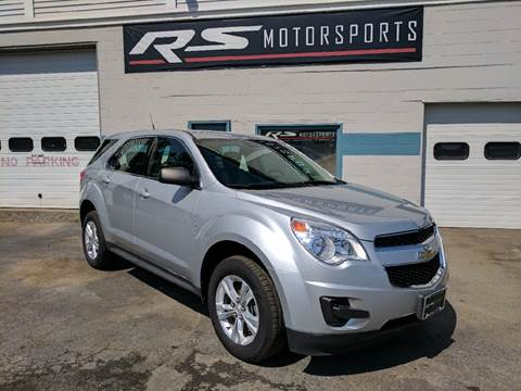 2011 Chevrolet Equinox for sale at RS Motorsports, Inc. in Canandaigua NY