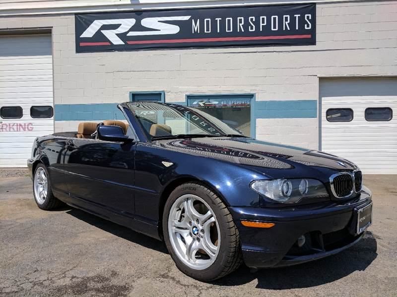 2004 BMW 3 Series for sale at RS Motorsports, Inc. in Canandaigua NY