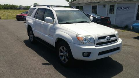 2007 Toyota 4Runner for sale at RS Motorsports, Inc. in Canandaigua NY