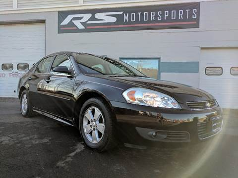 2010 Chevrolet Impala for sale at RS Motorsports, Inc. in Canandaigua NY