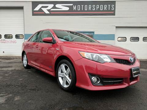 2014 Toyota Camry Hybrid for sale at RS Motorsports, Inc. in Canandaigua NY