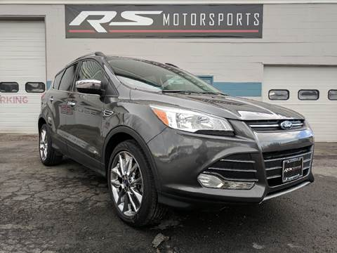 2015 Ford Escape for sale at RS Motorsports, Inc. in Canandaigua NY