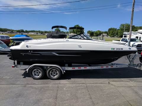 2016 Bayliner 215 Deck Boat for sale at RS Motorsports, Inc. in Canandaigua NY