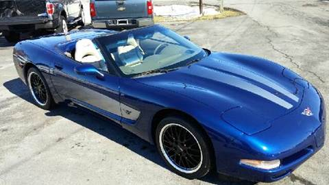 2004 Chevrolet Corvette for sale at RS Motorsports, Inc. in Canandaigua NY