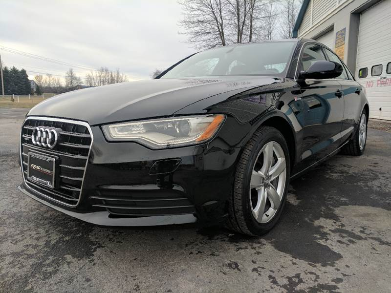 2012 Audi A6 3.0T quattro Premium Plus AWD 4dr Sedan In Canandaigua Audi A T Quarttro on