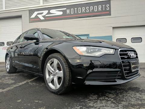 2012 Audi A6 for sale at RS Motorsports, Inc. in Canandaigua NY