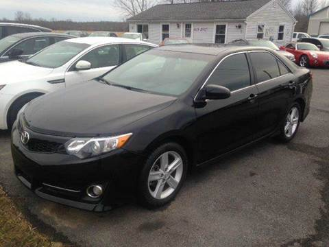 2012 Toyota Camry for sale at RS Motorsports, Inc. in Canandaigua NY