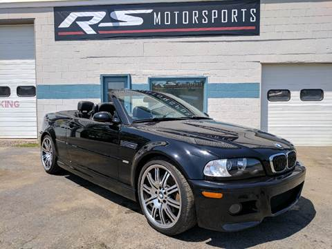2006 BMW M3 for sale at RS Motorsports, Inc. in Canandaigua NY