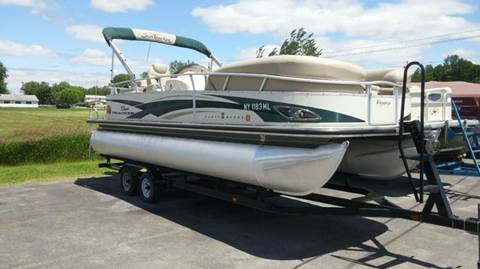 2010 Tracker Party Barge for sale at RS Motorsports, Inc. in Canandaigua NY