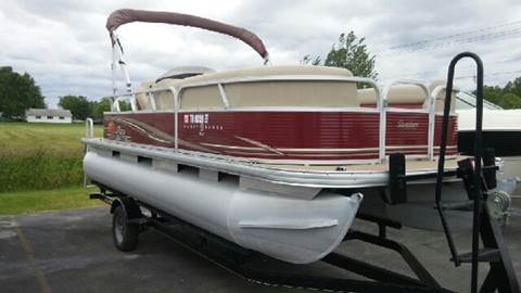 2013 Tracker Party Barge 20DLX for sale at RS Motorsports, Inc. in Canandaigua NY
