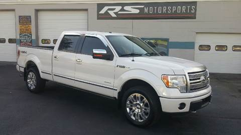 2011 Ford F-150 for sale at RS Motorsports, Inc. in Canandaigua NY