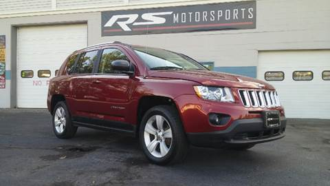 2011 Jeep Compass for sale at RS Motorsports, Inc. in Canandaigua NY