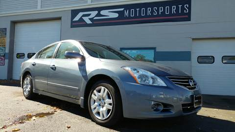 2010 Nissan Altima for sale at RS Motorsports, Inc. in Canandaigua NY