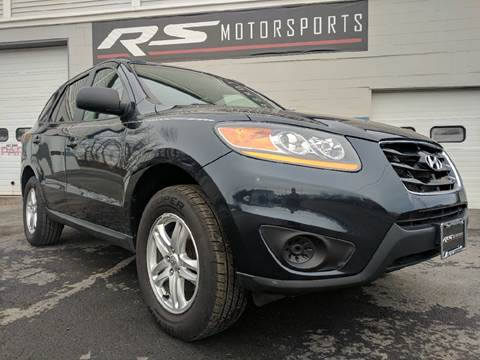 2011 Hyundai Santa Fe for sale at RS Motorsports, Inc. in Canandaigua NY