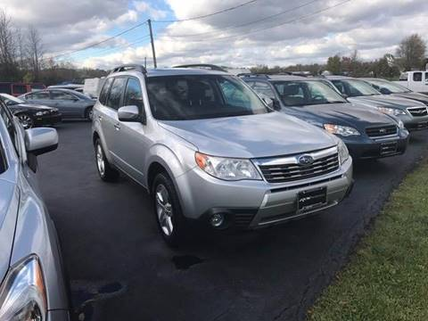 2009 Subaru Forester for sale at RS Motorsports, Inc. in Canandaigua NY